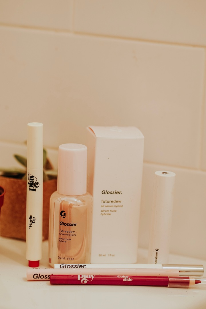 Glossier's Newest Products.