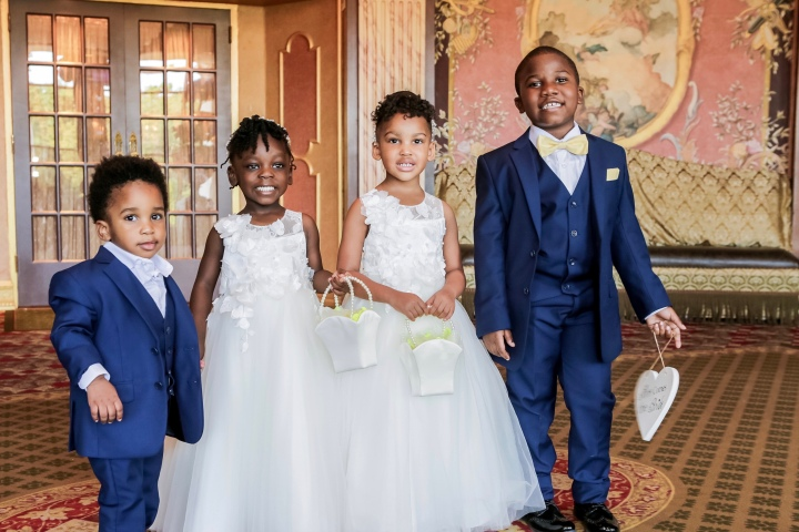 The Wedding Party Favorites: The Little People.